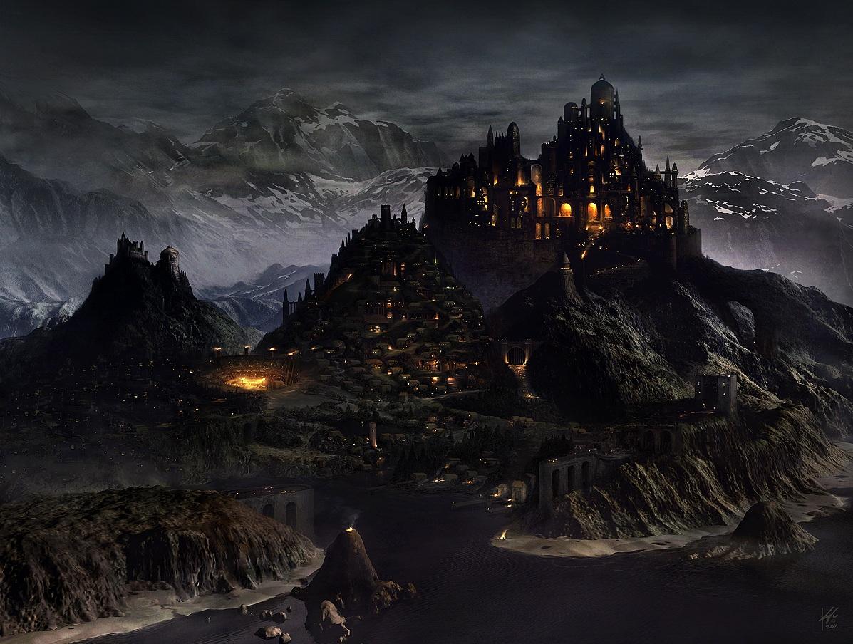 Cool fantasy art Medieval-Fantasy-City-1
