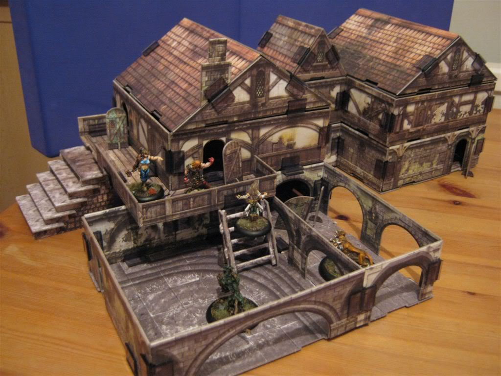 3D Fantasy City Buildings Comparing Your Options