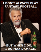 Fantasy Football is essentially D&D... with linebackers