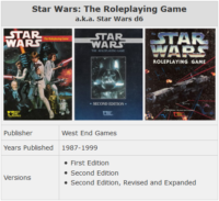 The History of Star Wars RPGs Part 1: Star Wars d6