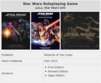 The History of Star Wars RPGs Part 2: Star Wars d20