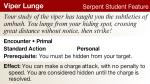 Serpent Student