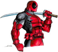 Deadpool - Marvel Editable Datafile